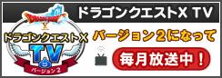 ドラゴンクエストX TV バージョン2になって毎月放送中!